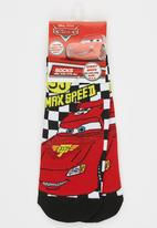 Character Fashion - Cars Slipper Sock Red