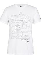 Lee  - See The City T-Shirt White