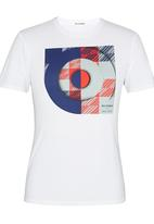 Ben Sherman - Printed Tee White