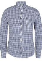 Ben Sherman - Long Sleeve Shirt Mid Blue