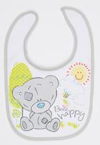 Character Baby - Tiny Tatty Teddy Bib Grey