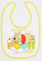 Character Baby - Winnie The Pooh Bib Multi-colour