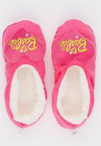 Character Fashion - Barbie Sherper Slipper Socks Dark Pink