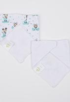 Character Baby - Mickey Mouse 2 Pack Bandanna bibs Multi-colour