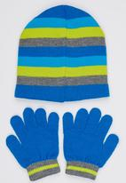 Character Fashion - Turtles  3 Piece Winter Set Mid Blue