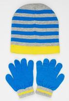 Character Fashion - Minions 3 Piece Winter Set Mid Blue
