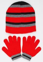 Character Fashion - Cars 3 Piece Winter Set Red