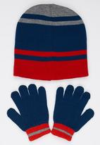 Character Fashion - Spiderman 3 Piece Winter Set Navy