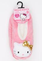 Character Fashion - Hello Kitty Sherper Slipper Socks Pale Pink