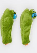 Character Fashion - Turtles Sherper Slipper Socks Green