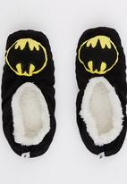 Character Fashion - Batman Sherper Slipper Socks Black