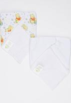 Character Baby - Winnie the Pooh 2 Pack Bandanna bibs Multi-colour