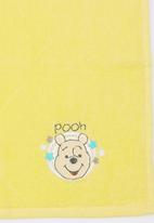 Character Baby - Winnie the Pooh 1 Pack Face Cloth (Embroidered) Yellow