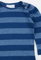 Luke & Lola - Long Sleeve Tee Blue and Grey