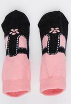 Spotanella - Little Girl  Socks Mid Pink