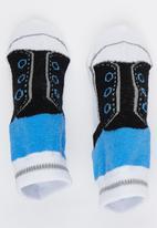 Spotanella - Little Boy Socks Black and Blue