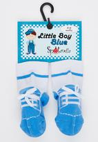 Spotanella - Little Boy Socks Mid Blue