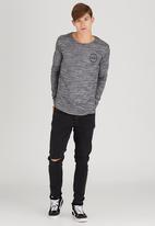 Silent Theory - Muse L/S Tee Black