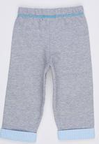 Hooligans - Melange Track Pants Grey