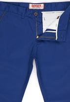 SOVIET - Wisconsin Straightleg Chino With Pu Pocket Detail Blue