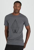 Volcom - Yarn T-shirt Grey