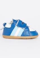 shooshoos - Racing Stripes Mid Blue
