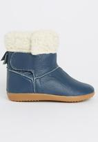 shooshoos - Blue Downs Boots Mid Blue