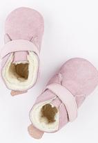 shooshoos - Pink Powder Genuine Wool Pale Pink