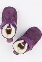 shooshoos - Grape Jelly Genuine Wool Mid Purple