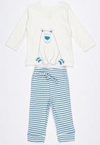 Baby Corner - Polar Bear 2 Piece Set Multi-colour