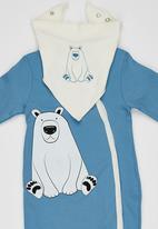 Baby Corner - Polar Bear 4 Piece Set Mid Blue