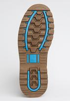 UrbanArt - Timba 6 Nub Boot Dark Brown