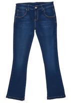 Rebel Republic - Bootleg Jeans Dark Blue
