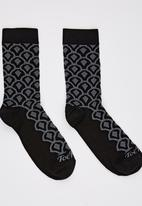 Toe Porn - Blake Arch Socks Black