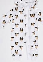 POP CANDY - Mickey Mouse  Bodysuit With Hoody Multi-colour