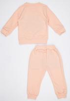 POP CANDY - Flower  Track Top and Pant Pale Pink