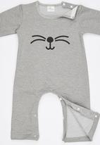 POP CANDY - Whiskers Bodysuit Grey