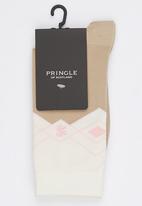 Pringle of Scotland - Miya Socks Stone