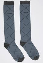 Pringle of Scotland - Elena Socks Grey