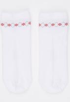 Pringle of Scotland - Aria Socks White