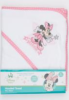 Character Baby - Minnie Mouse Hooded Towel White