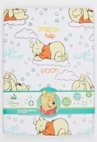 Character Baby - Winnie the Pooh Receiving Blanket Yellow