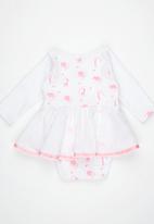 Poogy Bear - Winter Dress Mid Pink