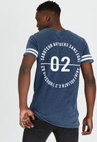 St Goliath - Rivalled T-Shirt Navy