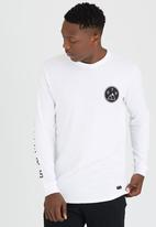 St Goliath - Pioneers Long Sleeve T-Shirt White
