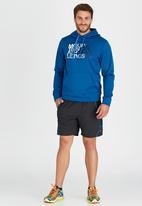 The North Face - Graphic Surgent Hoodie Blue
