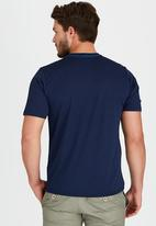 The North Face - Graphic Reaxion Crew T- Shirt  Blue