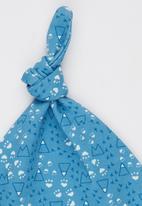 Baby Corner - Paw  Hood Hat Mid Blue