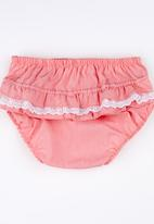 Pickalilly - Plain Diaper Covers Pink Pale Pink
