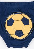 Baby Corner - Happy Pants  Football Navy